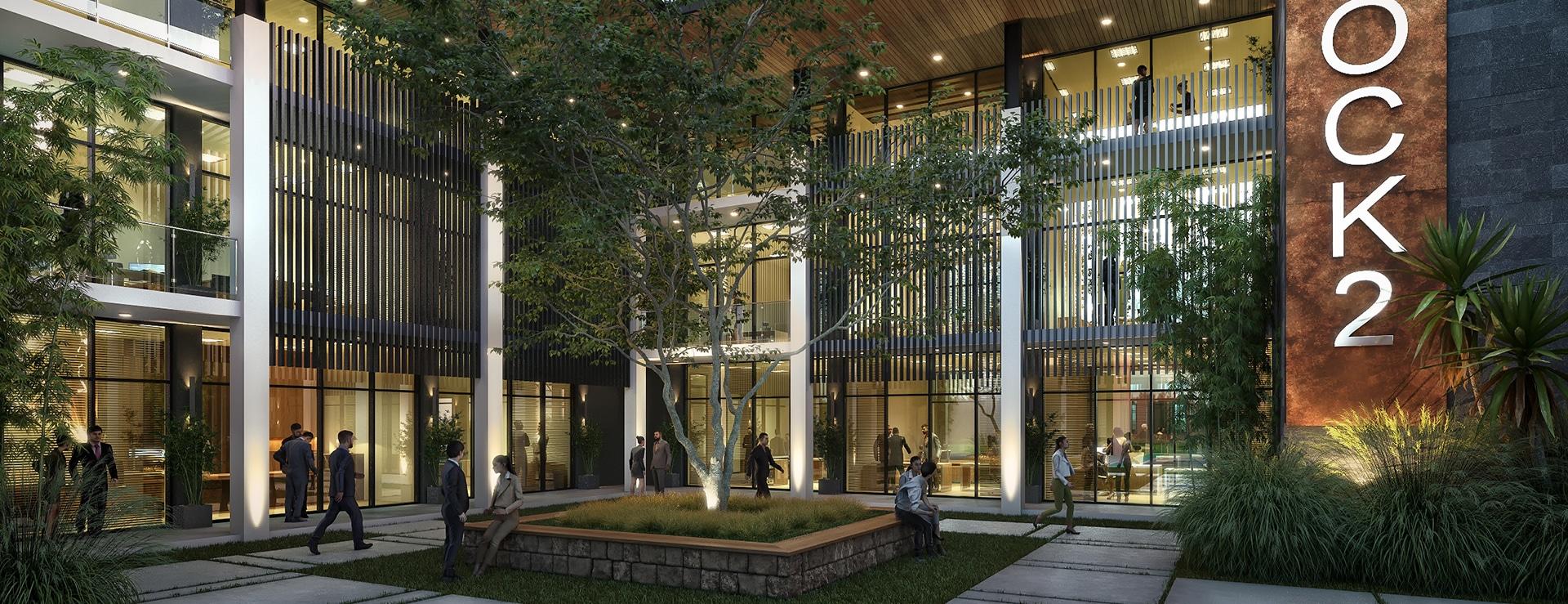 Business District - Beau Plan